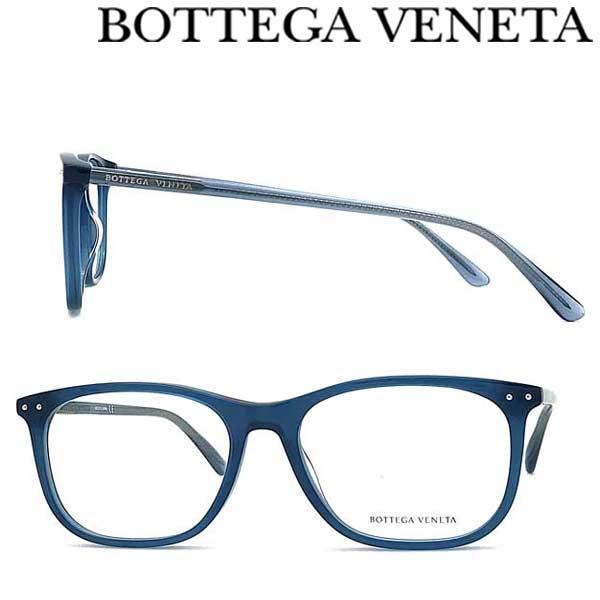 BOTTEGA VENETA メガネフレーム ボッテガヴェネタ メンズ&レディース クリアブルー 眼鏡 BTV-0193O-003 ブランド