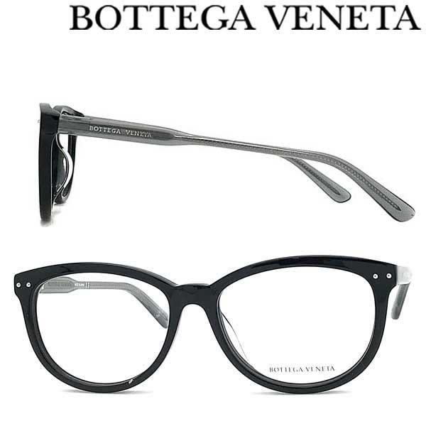 BOTTEGA VENETA メガネフレーム ボッテガヴェネタ メンズ&レディース ブラック 眼鏡 BTV-0196O-001 ブランド