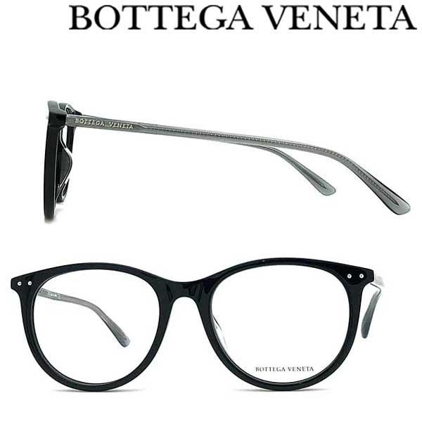 BOTTEGA VENETA メガネフレーム ボッテガヴェネタ メンズ&レディース ブラック 眼鏡 BTV-0215OA-001 ブランド