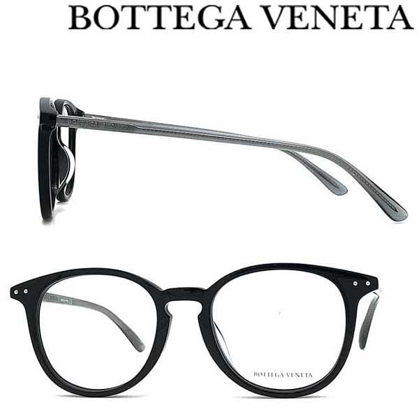 BOTTEGA VENETA メガネフレーム ボッテガヴェネタ メンズ&レディース ブラック 眼鏡 BTV-0216OA-001 ブランド