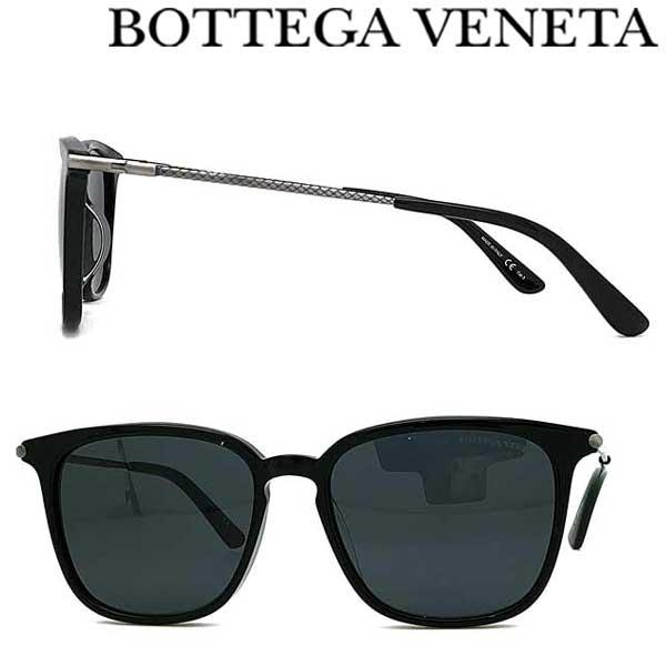 BOTTEGA VENETA サングラス ボッテガヴェネタ メンズ&レディース ブラック BTV-0219SK-001 ブランド