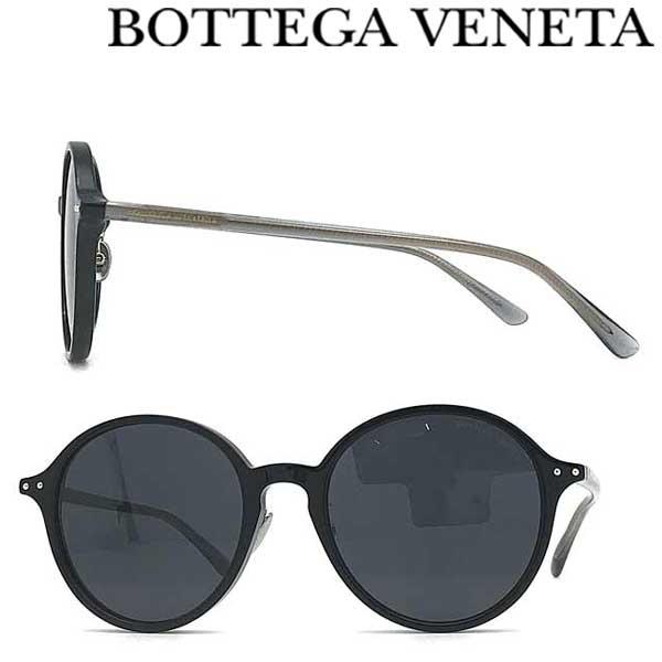 BOTTEGA VENETA サングラス UVカット ボッテガヴェネタ メンズ&レディース ブラックサングラス UVカット BTV-0223SK-001 ブランド