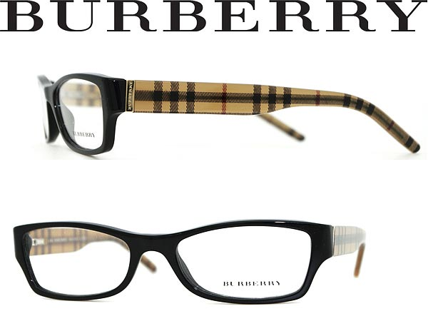 1ec175858558 BURBERRY glasses black x Gold x check pattern Burberry eyeglass frames  eyeglasses 0BE-2094-3001 branded mens   ladies   men for   woman sex for  and degrees ...