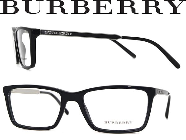 b01d42acbf BURBERRY glasses black x silver Burberry eyeglass frames glasses  0BE-2126-3001 WN 0049 branded mens   ladies   men for   woman sex for and  once with ITA ...