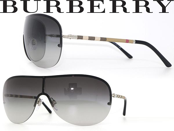 3315a8e36d ultraviolet rays UV cut lens   drive   fishing   OUTDOOR   fashion    fashion for   women for one piece of BURBERRY sunglasses gradation black  lens burberry ...