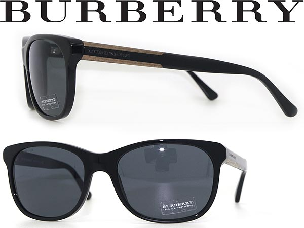 afad5be7b56 Burberry sunglasses black BURBERRY 0BE-4123-3001-87 WN0038 branded mens    ladies   men for   woman sex for and ultraviolet UV kathrens drive    fishing ...