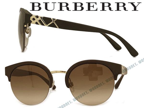 BURBERRY サングラス UVカット バーバリー メンズ レディース グラデーションブラウン 0BE-4241-3464-13 ブランド
