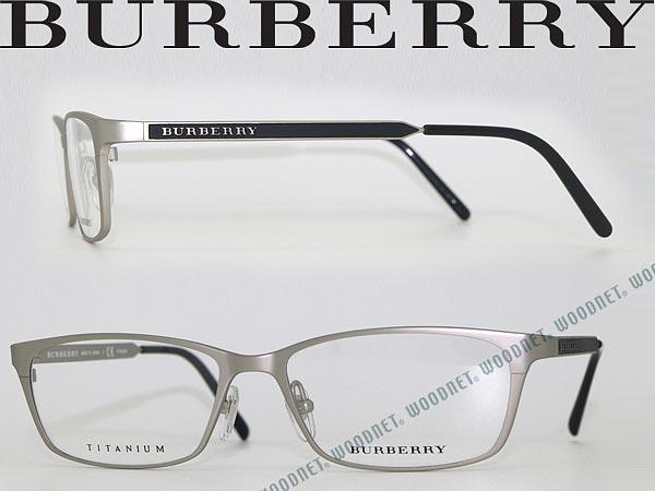 woodnet | Rakuten Global Market: Glasses frame BURBERRY Matt silver ...