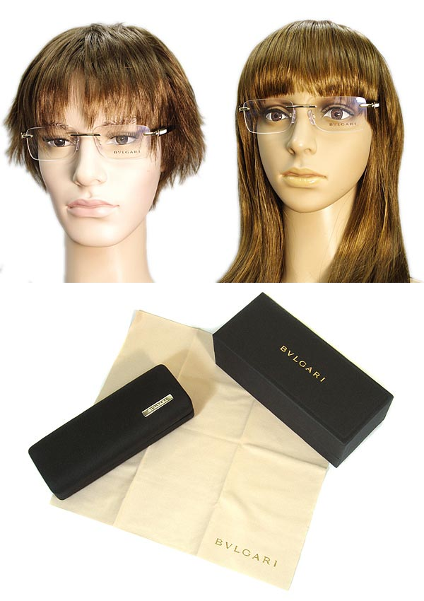 沒有沒有BVLGARI眼鏡緣的/邊緣的寶格麗二點數型黄金×玳瑁棕色眼鏡架子眼鏡0BV-1042-278名牌/人&女士/男性事情&女性事情/度從屬于的伊達、老花眼鏡、彩色·個人電腦事情PC眼鏡透鏡交換對應