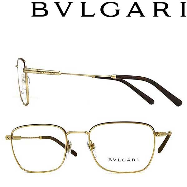 BVLGARI メガネフレーム ブルガリ メンズ&レディース マットゴールド 眼鏡 0BV-1105-2052 ブランド