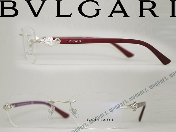 BVLGARI Bvlgari silver RIM without glasses frame spectacles glasses 0 BV-2169B-102 branded/mens & ladies / men\'s & women\'s / advanced with ITA reading ...