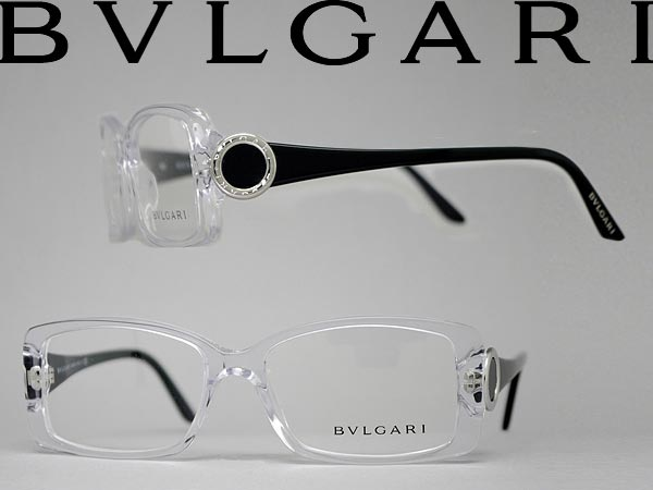 woodnet | Rakuten Global Market: Clear glasses Bvlgari × black ...