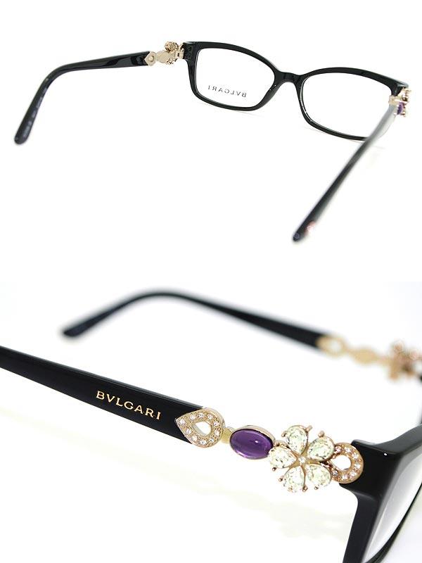 woodnet | Rakuten Global Market: Glasses Bvlgari black x bronze ...