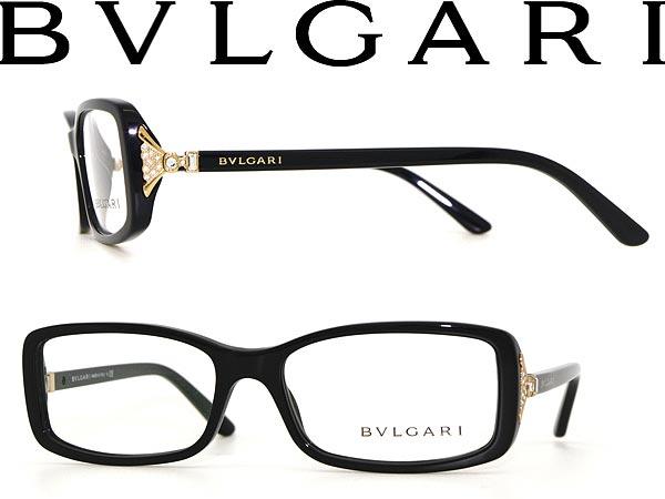 Bvlgari Woodnet Gold Glasses × Frame Black Square 17qBw8F