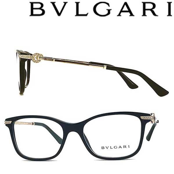 BVLGARI メガネフレーム ブルガリ メンズ レディース ブラック 眼鏡 0BV-4173B-501 ブランド