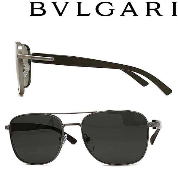 BVLGARI サングラス ブルガリ メンズ&レディース UVカット ブラック 0BV-5050-195-87 ブランド