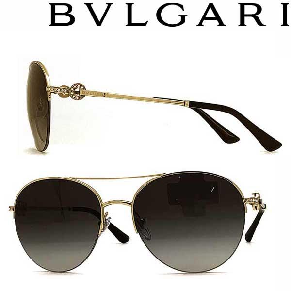 BVLGARI サングラス ブルガリ メンズ&レディース UVカット グラデーションブラック 0BV-6132B-278-8G ブランド