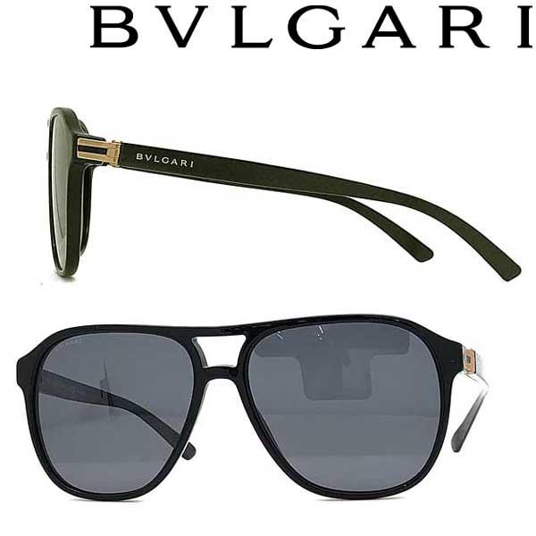BVLGARI サングラス ブルガリ メンズ&レディース ブラック 0BV-7034-501-81 ブランド