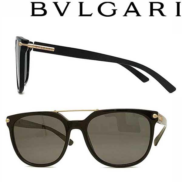BVLGARI サングラス ブルガリ メンズ&レディース UVカット ブラック 0BV-7035-501-81 ブランド