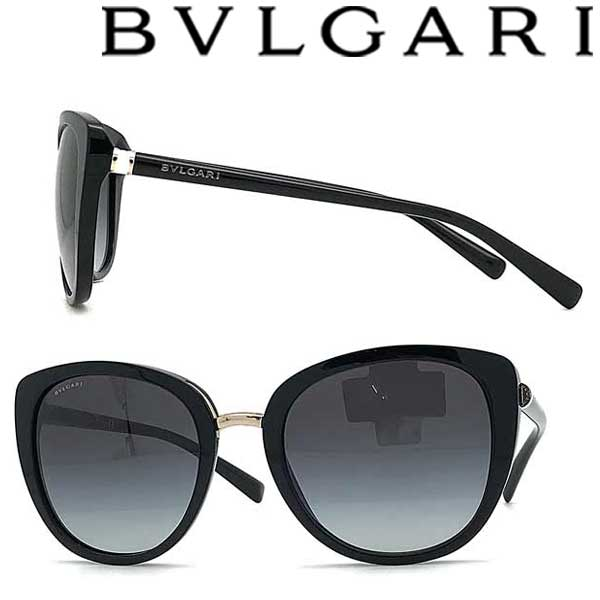 BVLGARI サングラス UVカット ブルガリ レディース グラデーションブラック 0BV-8177-501-8G ブランド