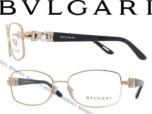 33d7a85ba24 Bulgari eyeglasses gold x black BVLGARI glasses frames glasses BV-2150B-376  WN0054 branded mens  amp  ladies   men for  amp  woman sex for and once  with ITA ...