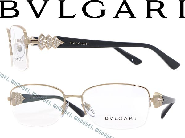 65a1997f3a6 Bvlgari glasses gold x black nylon type BVLGARI glasses frames glasses  BV-2162B-376 WN0054 branded mens  amp  ladies   men for  amp  woman sex for  and once ...
