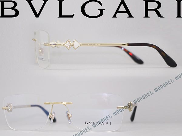 Rimless Glasses Philippines : woodnet Rakuten Global Market: BVLGARI Bulgari ...