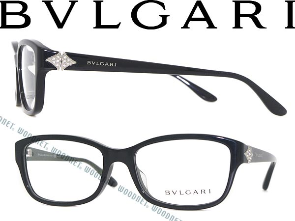 ba6fa9e0ece Bulgari eyeglasses frame black BVLGARI eyeglasses glasses BV-4086 BF-501  WN0054 branded mens  amp  ladies   men for  amp  woman sex for and degrees  with ITA ...