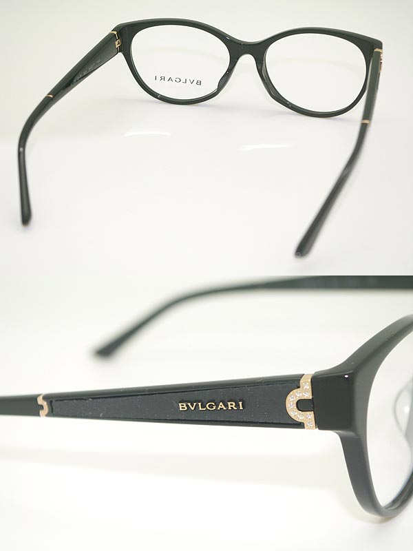 woodnet | Rakuten Global Market: BVLGARI glasses black Bvlgari ...