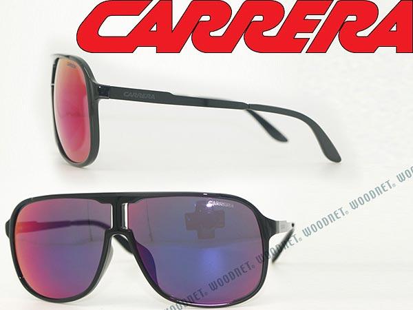 CARRERA サングラス パープルミラー ティアドロップ カレラ CARNEW-SAFARI-F-F3I-MI ブランド/紫外線UVカットレンズ/ドライブ/釣り/アウトドア/おしゃれ