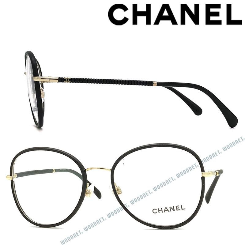 CHANEL メガネフレーム シャネル レディース 眼鏡 ブラック×ゴールド 0CH-2178-C134 ブランド