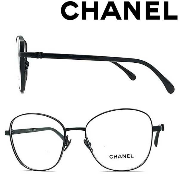 CHANEL メガネフレーム シャネル レディース ブラック 眼鏡 0CH-2198-C101 ブランド