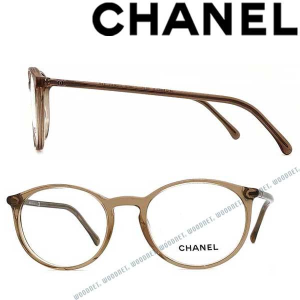CHANEL メガネフレーム シャネル レディース クリアブラウン 眼鏡 0CH-3372-1090 ブランド