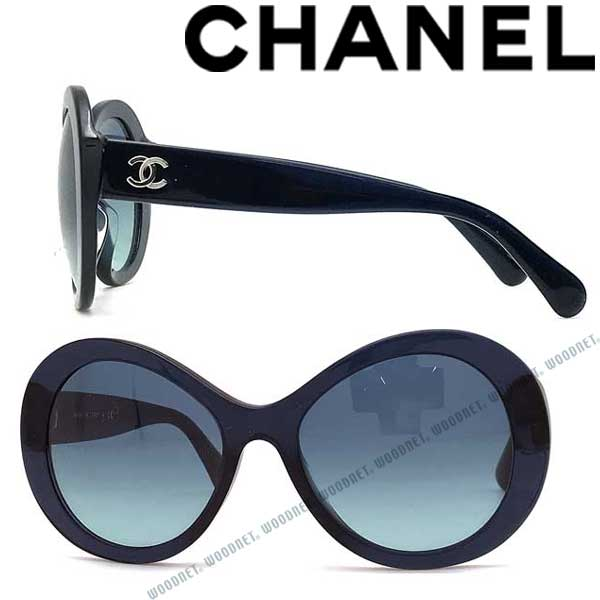 CHANEL サングラス UVカット シャネル レディース グラデーションブルー 0CH 5372A C5084S ブランドiZOTPXuk