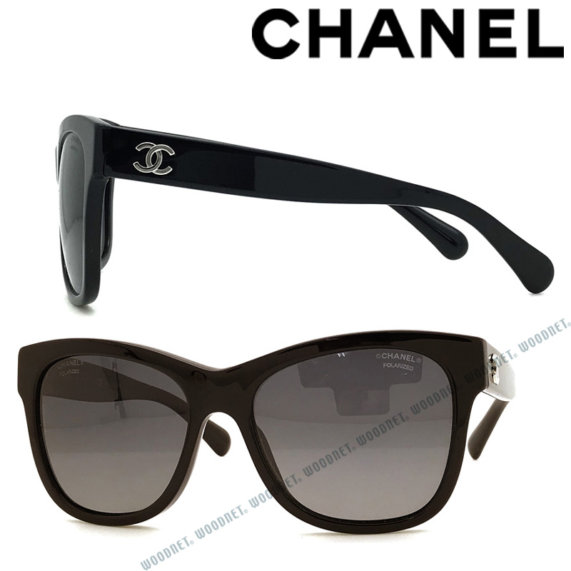CHANEL サングラス UVカット シャネル レディース グラデーションブラック 偏光レンズ 0CH-5380-C501S8 ブランド