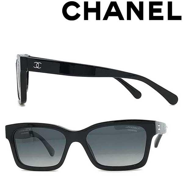 CHANEL サングラス シャネル メンズ&レディース ブラック ≪偏光レンズ≫ 0CH-5417-C501S8 ブランド