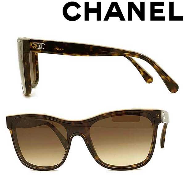 CHANEL サングラス シャネル レディース グラデーションブラウン 0CH-5418-1682S5-31 ブランド
