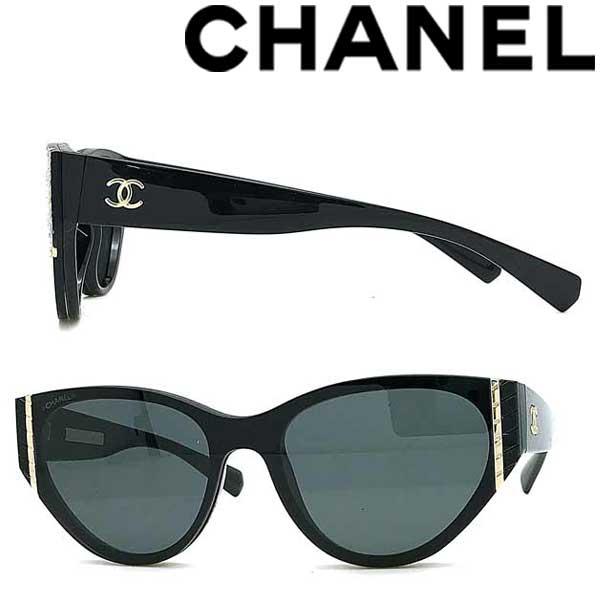 CHANEL サングラス UVカット シャネル レディース ブラック 0CH-6054-C501-S4 ブランド