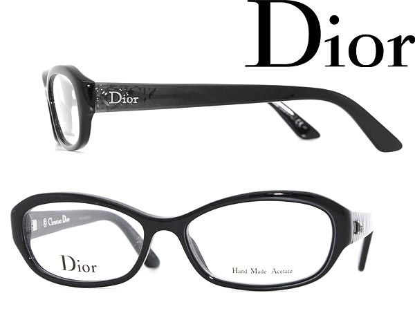 woodnet: Christian Dior eyeglass frame black x clear black Christian ...