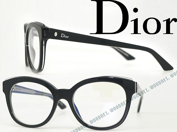 bcd4abea9a76 Christian Dior Christian Dior CD eyeglass frame black x branded mens    ladies   men CRD-MONTAIGNE4-G2B eyeglasses glasses clear for   woman of for    degrees ...