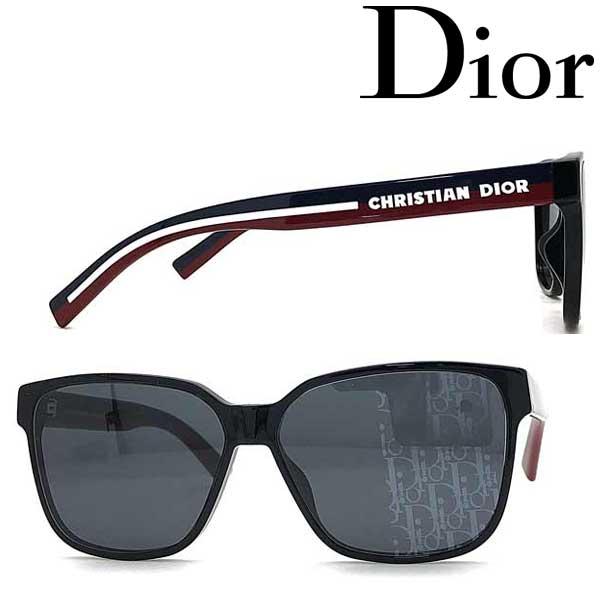 Christian Dior サングラス クリスチャンディオール メンズ&レディース ブラック DIORFLAG3-807-KW ブランド