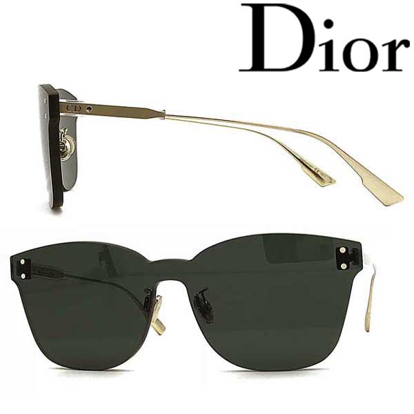 Christian Dior サングラス クリスチャンディオール レディース ブラック 縁無し DIORCOLORQUAKE2-1ED-QT ブランド