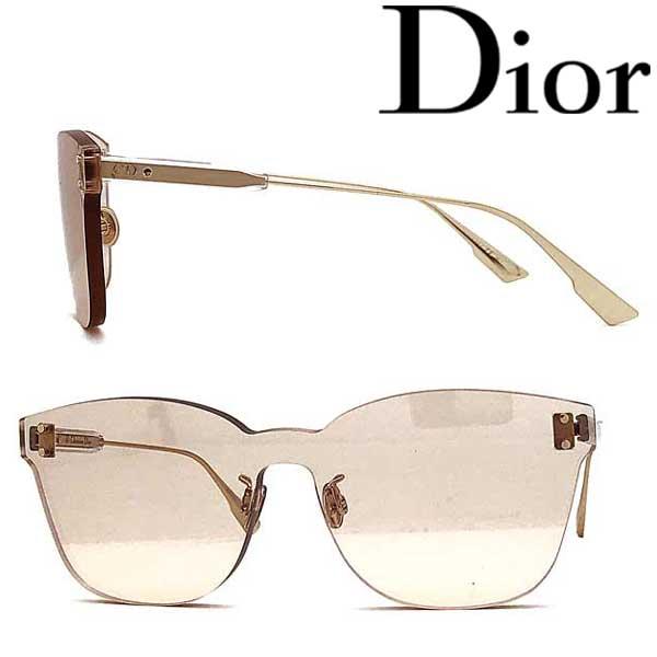 Christian Dior サングラス クリスチャンディオール レディース ライトブラウン 縁無し DIORCOLORQUAKE2-FWM-VC ブランド