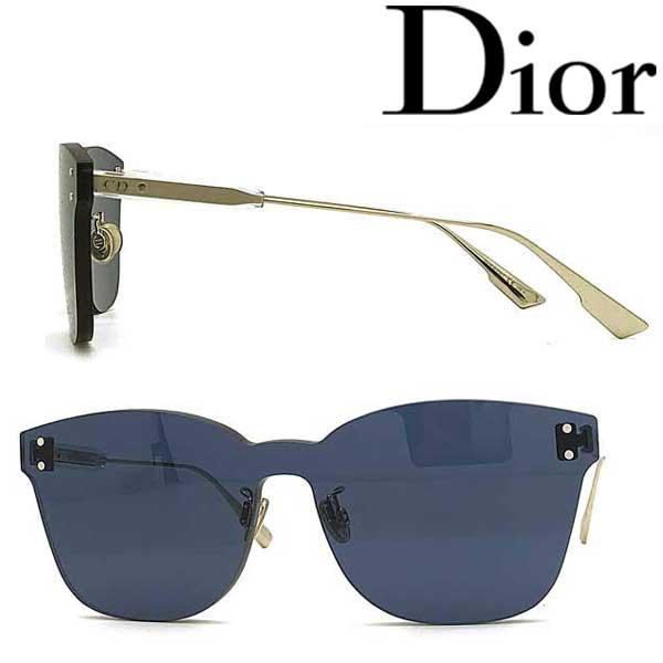 Christian Dior サングラス クリスチャンディオール レディース ネイビー 縁無し DIORCOLORQUAKE2-PJP-KU ブランド