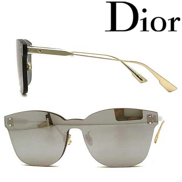 Christian Dior サングラス UVカット クリスチャンディオール レディース シルバー 縁無し DIORCOLORQUAKE2-YB7-T4 ブランド