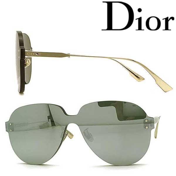 Christian Dior サングラス クリスチャンディオール レディース シルバー 縁無し DIORCOLORQUAKE3-YB7-T4 ブランド