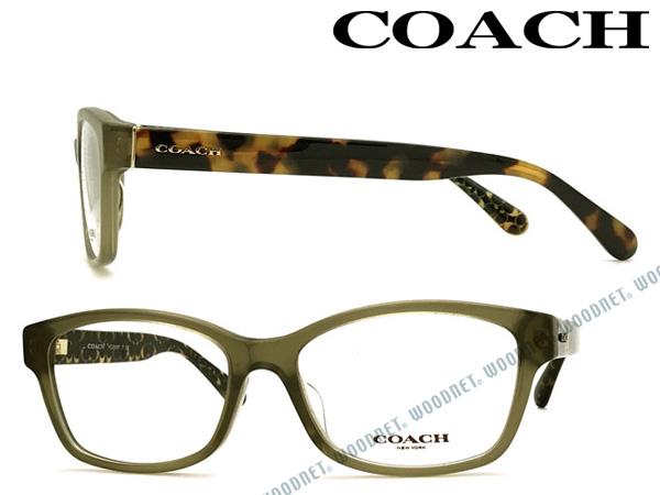 COACH メガネフレーム コーチ クリアカーキ メンズ&レディース 眼鏡 HC6116F-5508 ブランド