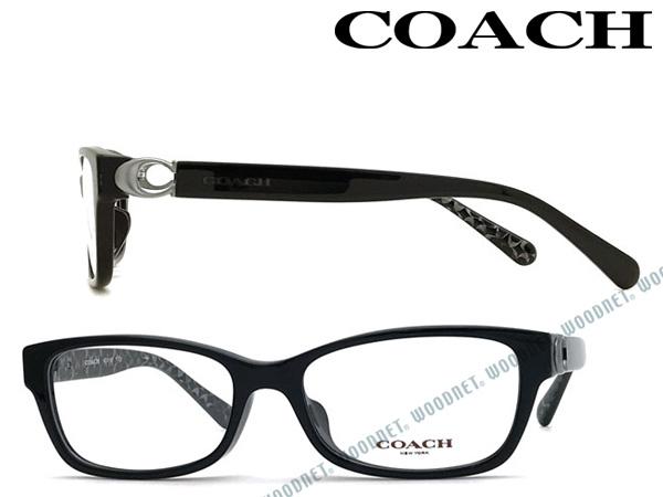 COACH メガネフレーム コーチ ブラック メンズ&レディース 眼鏡 HC6119F-5510 ブランド