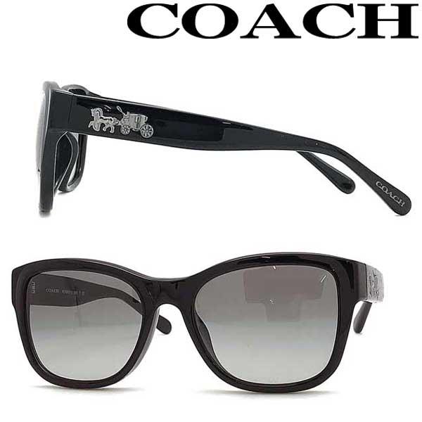 COACH サングラス コーチ レディース グラデーションブラック HC8243F-500211 ブランド