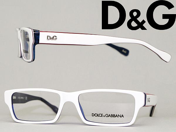 e54ecf69cf366 Frame of glasses D  amp  G White Square type eyeglasses glasses  0DD-1203-1873 branded mens  amp  ladies   men for  amp  woman sex for and  degrees with ITA ...